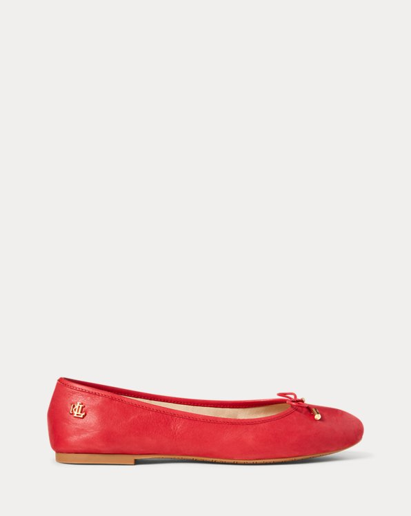 Jayna Leather Flat