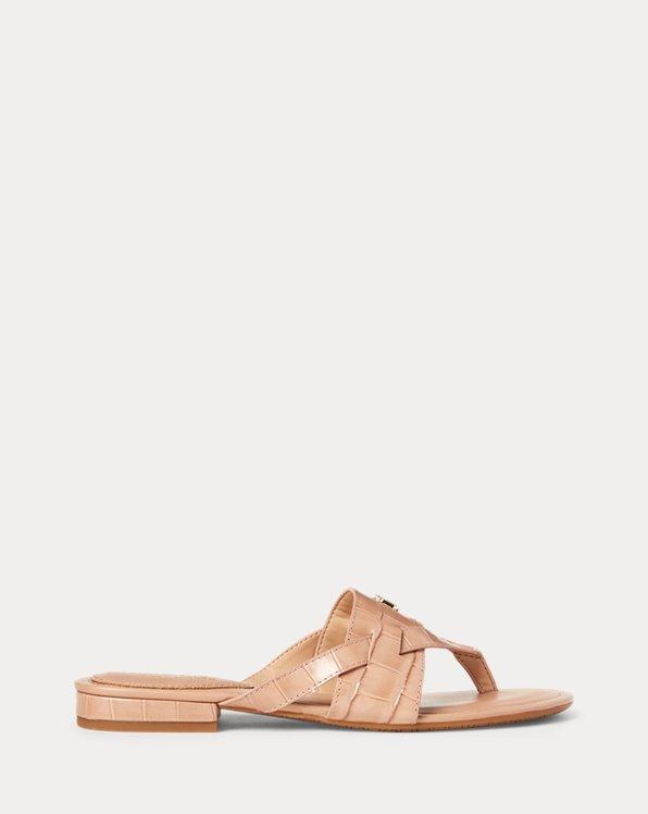 Rosalind Leather Sandal