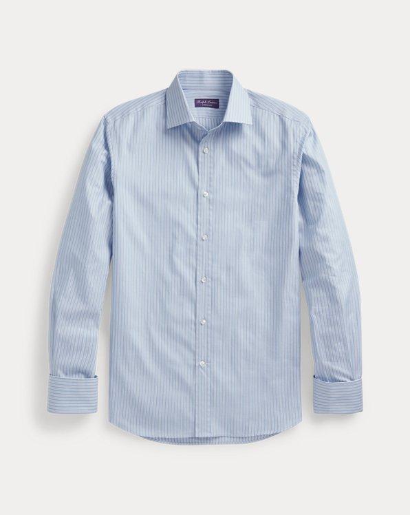 Striped French-Cuff Shirt