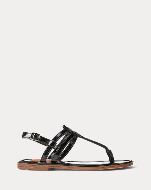 Tierney Faux-Leather Sandal