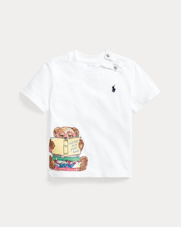 Reading Bear Cotton Tee