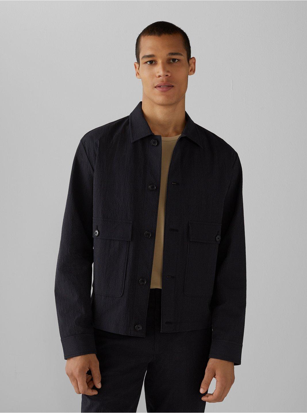Seersucker Short Jacket