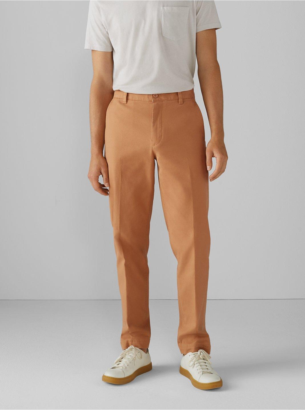 클럽 모나코 Club Monaco Straight Leg Utility Pants,Sandstone