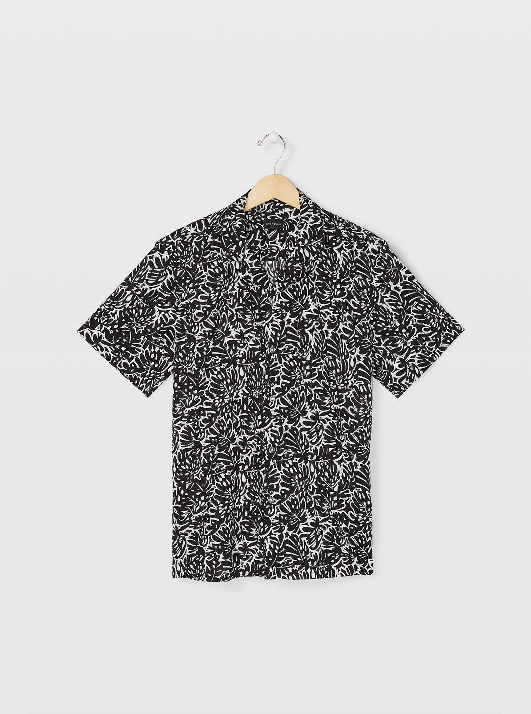 Camp Collar Tropical Shirt