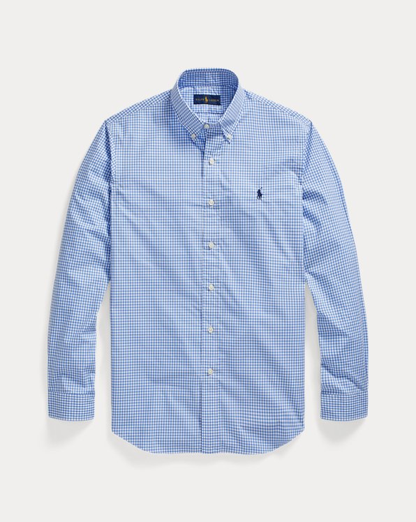 Custom Fit Checked Shirt