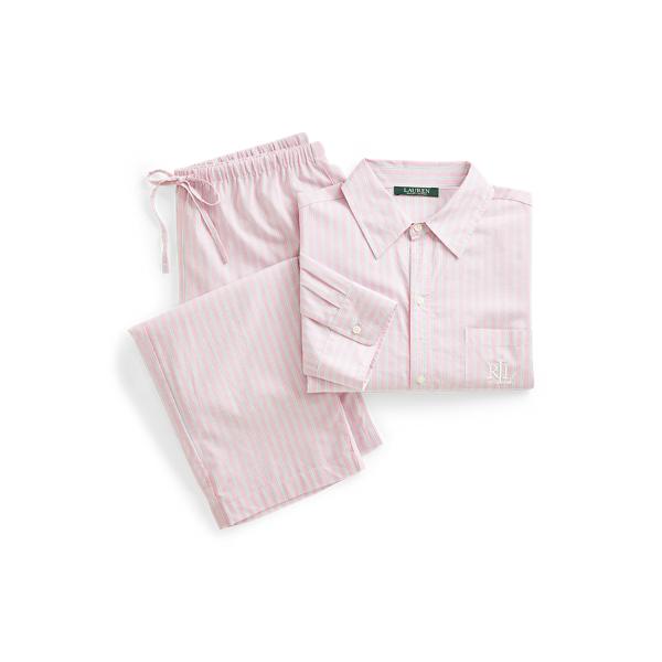 Polo Ralph Lauren Striped Cotton-Blend Sleep Set