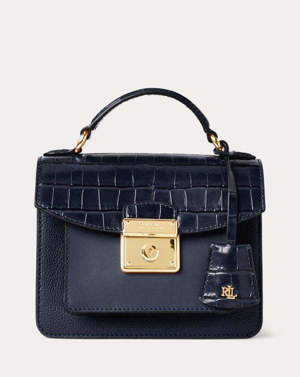 Bolso satchel de piel Beckett pequeño