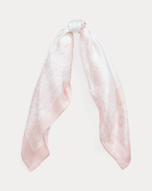 Lisa Square Silk Scarf