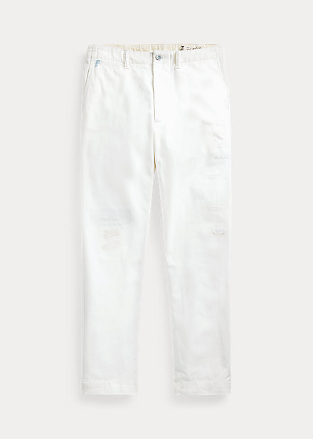 Polo RalphLauren Relaxed Fit Repaired Chino