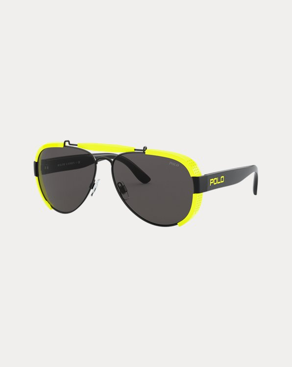 Fluorescent Pilot Sunglasses
