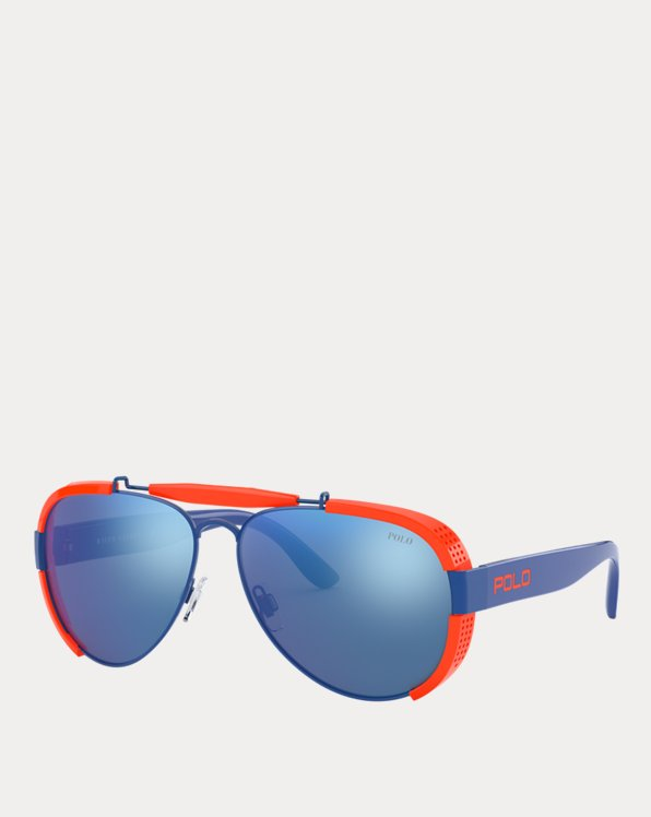 Fluorescent Pilot Sunglasses