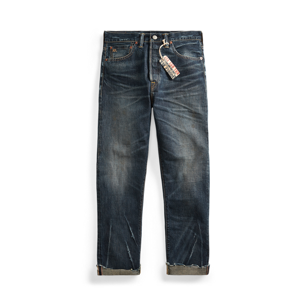 Boy Fit Straight Jeans