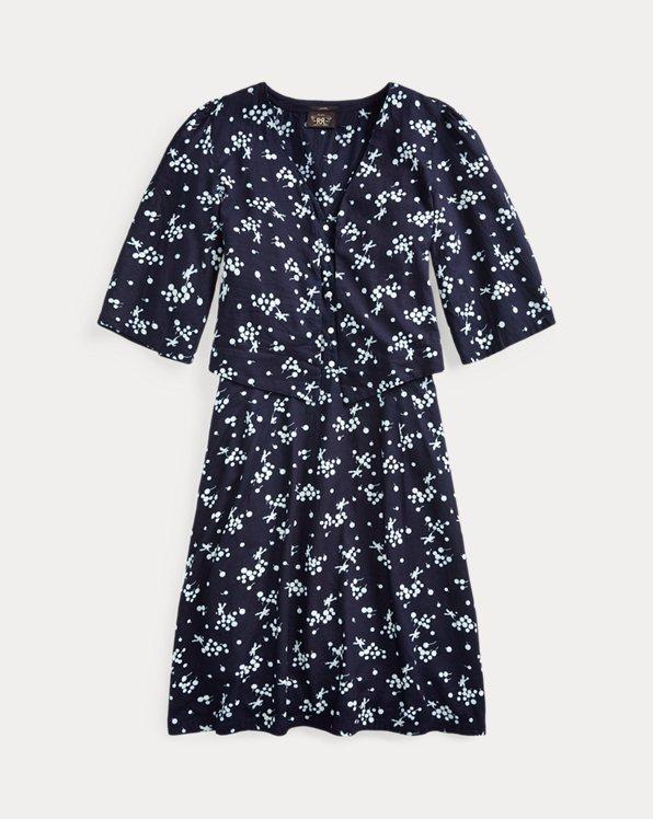 Print Twill Bolero & Dress