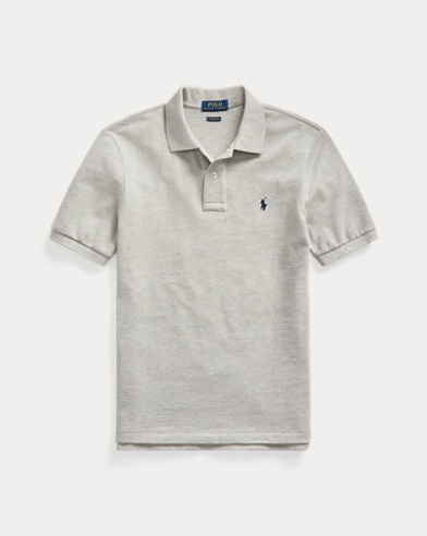 폴로 랄프로렌 보이즈 폴로셔츠 Polo Ralph Lauren Cotton Mesh Polo Shirt,Andover Heather