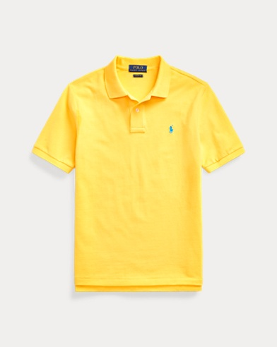 폴로 랄프로렌 보이즈 폴로셔츠 Polo Ralph Lauren Cotton Mesh Polo Shirt,Yellowfin