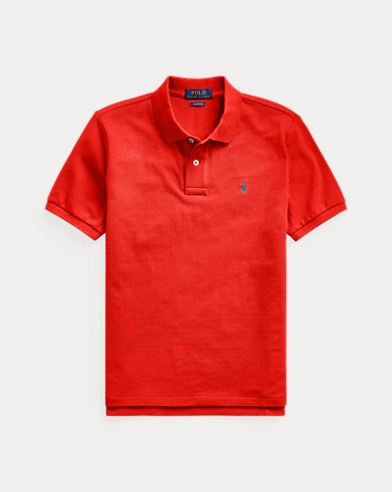 폴로 랄프로렌 보이즈 폴로셔츠Polo Ralph Lauren Cotton Mesh Polo Shirt,African Red
