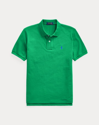 폴로 랄프로렌 보이즈 폴로셔츠 Polo Ralph Lauren Cotton Mesh Polo Shirt,Billiard
