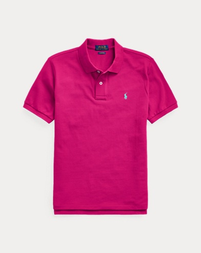 폴로 랄프로렌 보이즈 폴로셔츠 Polo Ralph Lauren Cotton Mesh Polo Shirt,Pink
