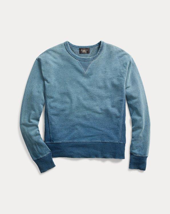 Indigo French Terry Sweatshirt