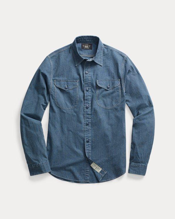 Chemise workwear Oxford indigo