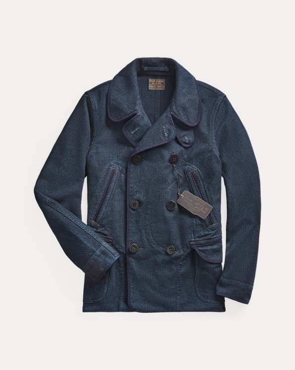 Limited-Edition Indigo Peacoat