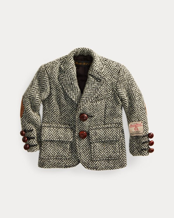 Chaqueta informal de tweed mini