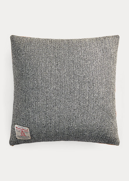 Polo RalphLauren Harris Tweed®  Suede Pillow