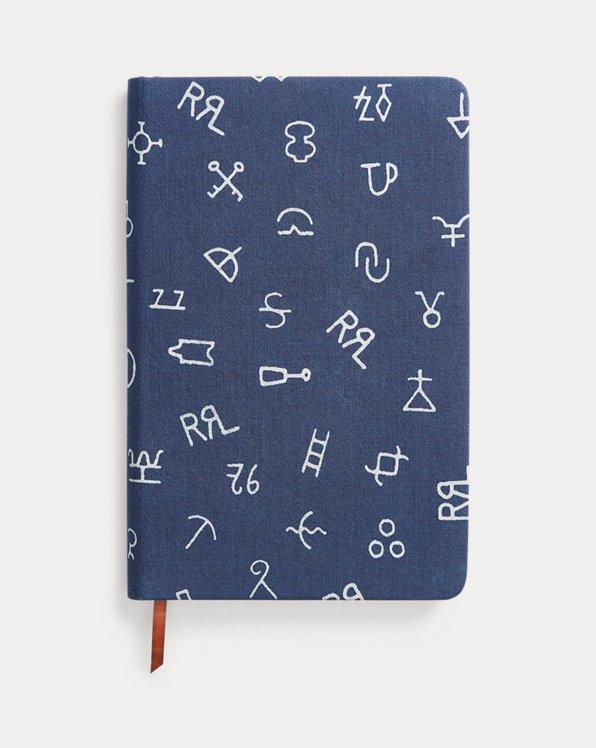 Cuaderno y funda índigo
