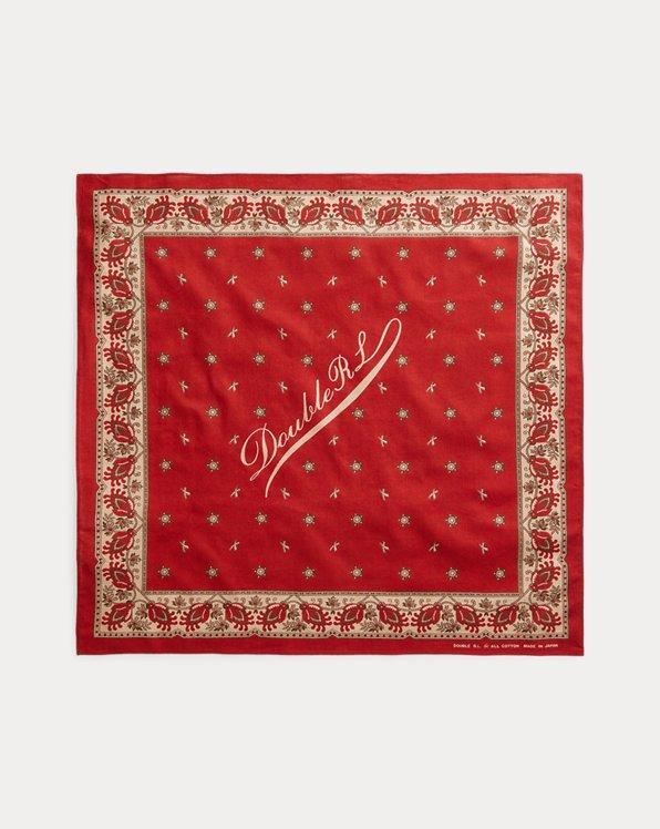 Baumwollbandana mit Logodruck
