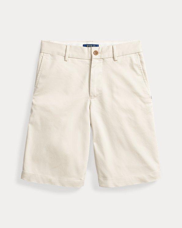 폴로 랄프로렌 보이즈 반바지 Polo Ralph Lauren Stretch Chino Golf Short,Basic Sand