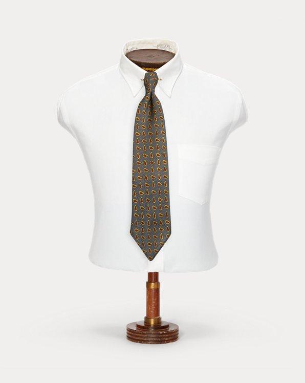 Handmade Neat Wool Tie