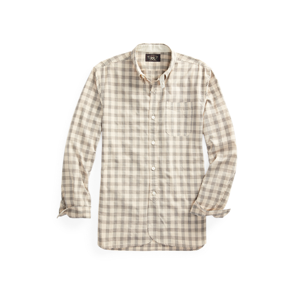 Checked Cotton Dobby Workshirt