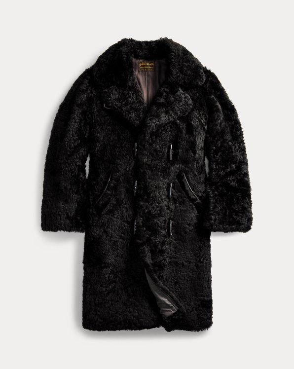Manteau en peau lainée édition limitée