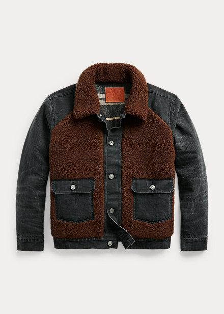 Polo Ralph Lauren Fleece Paneled Denim Jacket