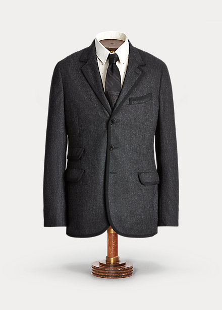 Polo Ralph Lauren Wool Flannel Suit Jacket