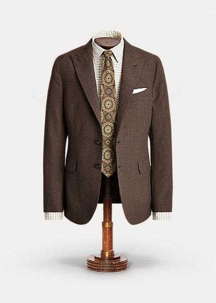 Polo RalphLauren Houndstooth Wool Suit Jacket