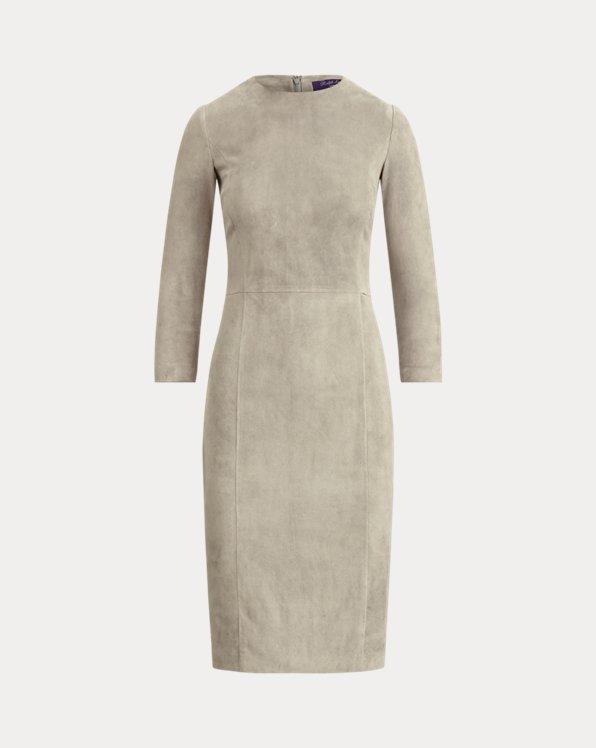Robe Kimberly en daim stretch