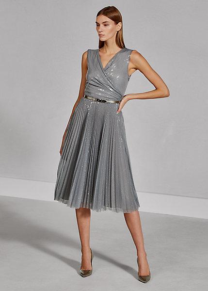 Polo RalphLauren Maegan Sequined Tulle Dress