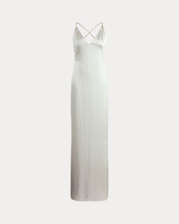 Leiani Silk Halter Dress