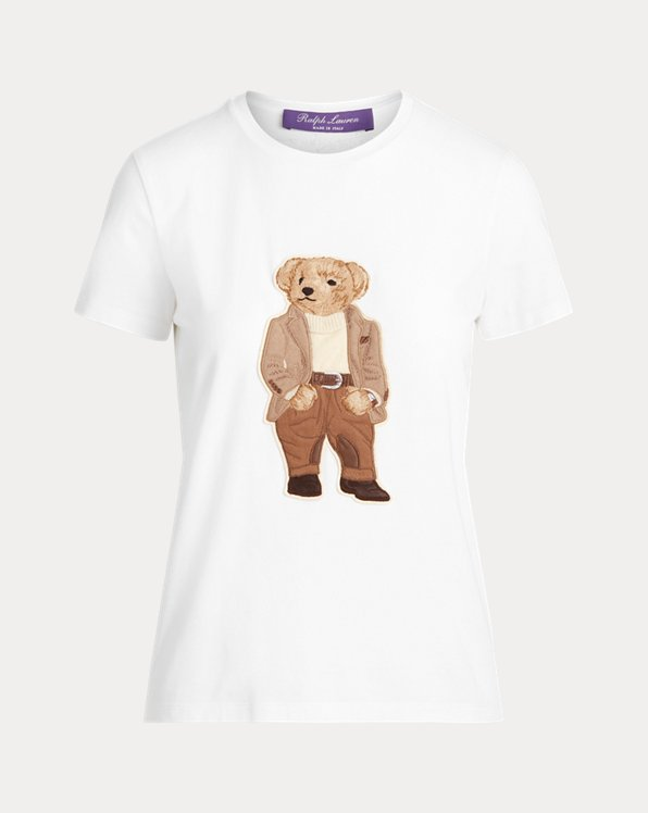 Baumwoll-T-Shirt mit Bedford Bear