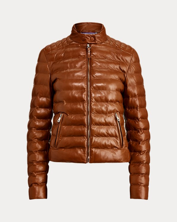 Freja Quilted Leather Jacket
