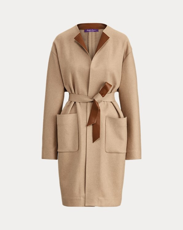 Katerina Wool-Blend Coat