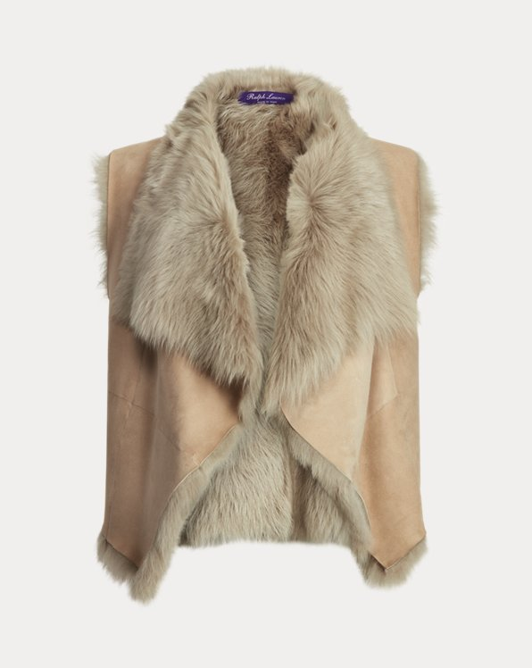 Cassie Shearling Vest