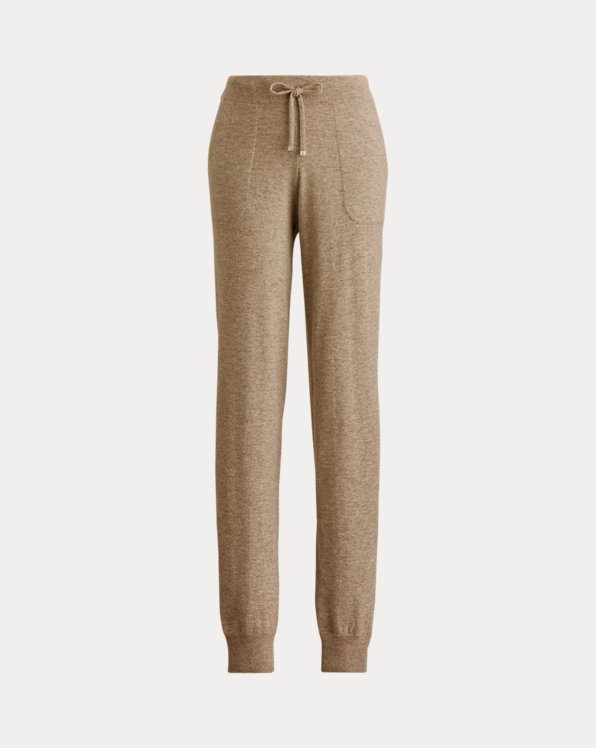 Cashmere Jersey Jogging Trouser