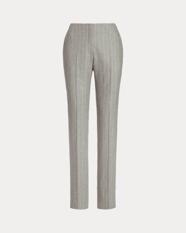 Pantalon Simone flanelle de laine