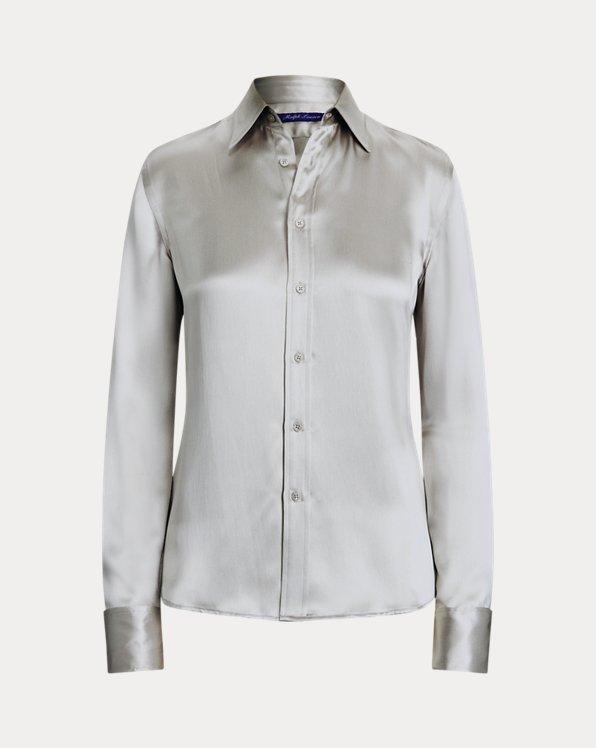 Woodson Silk Satin Shirt