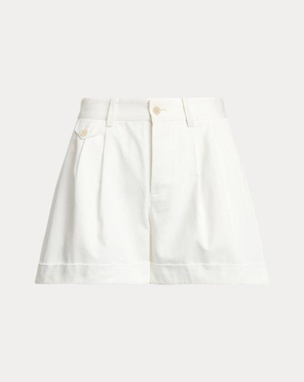 Michella Cotton Pleated Short