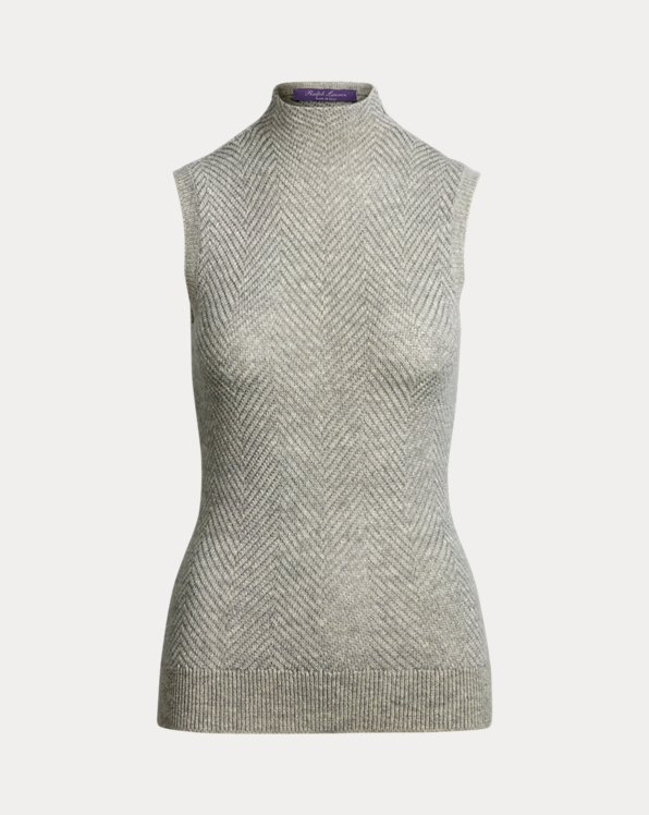 Metallic Cashmere Jumper