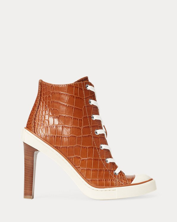 Raelyn Calfskin Trainer Pump
