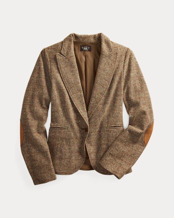 Donegal Tweed Wool-Blend Jacket